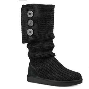 UGG Classic Cardy Boot in Black 8